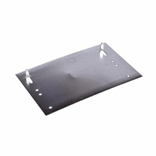 Oatey 33899 Self-Nailing FHA Plate, 8 in L x 5 in W, Steel, Galvanized