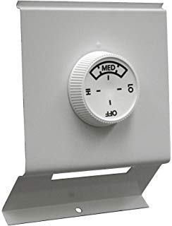 TPI TBD In-Built Thermostat Kit With (2) Cover Plates, For Use With 2900C Series Electric Baseboard Convection Heater, 22 A at 120 to 240 VAC