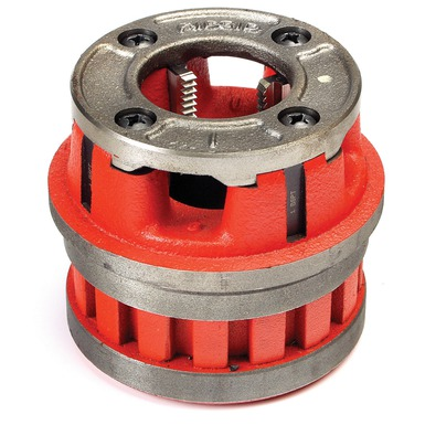 RIDGID 37415 12-R Hand Threader Die Head, 2 in Nominal, NPT Thread, Right Hand Thread Direction, Alloy Steel Die