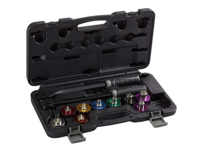 CPS BTLE9 Blackmax Premium Imperial Multi-Head Tube Expander Kit, 14/ in to 1-1/8 in OD