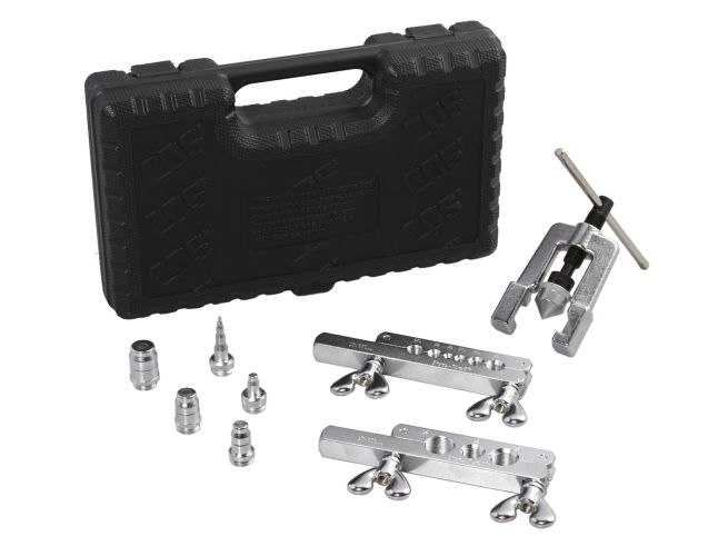CPS FS275 45 deg Flaring and Swaging Tool Kit for 1/8 to 3/4 in OD Tubing