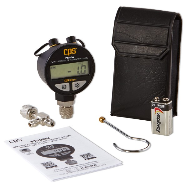 CPS PT200W Wireless Pressure and Temperature Gauge