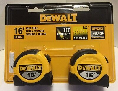 Black & Decker DWHT80088L DeWALT 16 ft Tape Measure