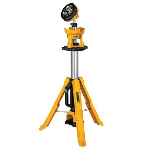 DeWALT 20V MAX DCL079B Cordless Tripod Light, LED Lamp, 20 VDC