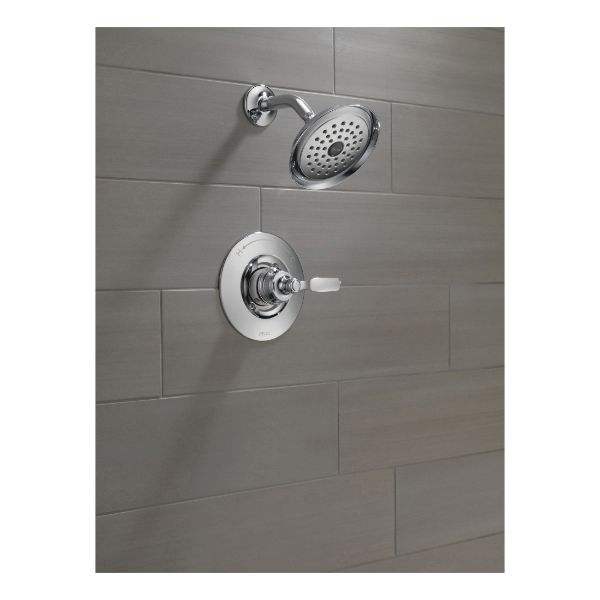 DELTA T14232 Shower Trim, 1.75 gpm Shower, Chrome Plated