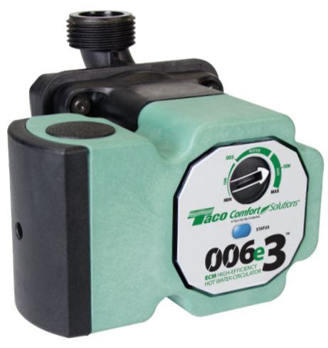 Taco 006E3 ECM High Efficiency Hot Water Circulator