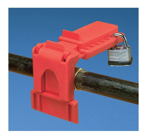 Panduit PSL-BV1 Small Ball Valve Lockout, Fits Minimum Pipe Size: 1/4 in, Fits Maximum Pipe Size: 1 in