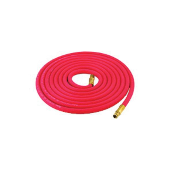 Harris 4300775 1-Line Hose With A and A Fittings, 3/16 in, 12 in L, 200 psi