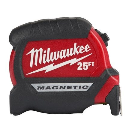 Milwaukee 48-22- 0125 25 ft Compact Magnetic Tape Measure
