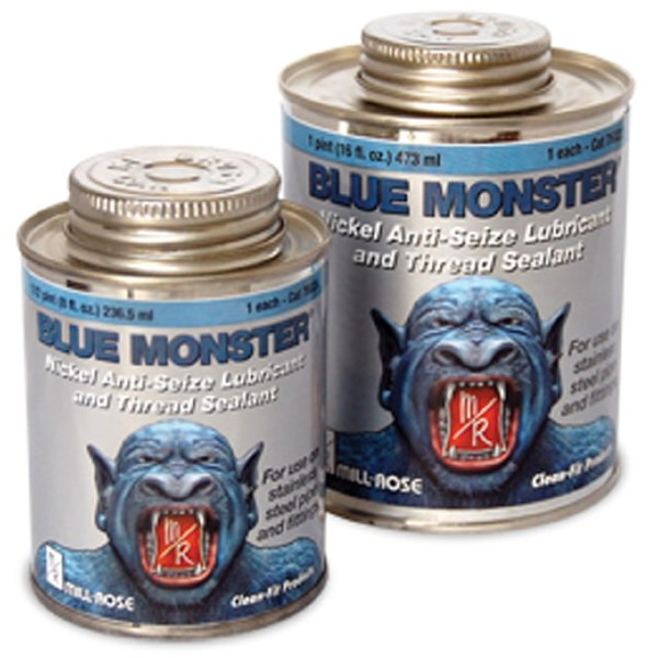 Mill-Rose 76022 Blue Monster PTFE 10% Nickel Guard Anti-Seize Lubricant and Thread Sealant, 16 oz