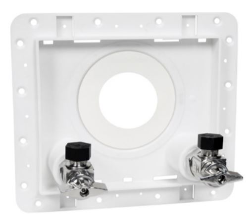 Sioux Chief 698-A11-PR OmegaPlate Dual Valve Supply Access Plate