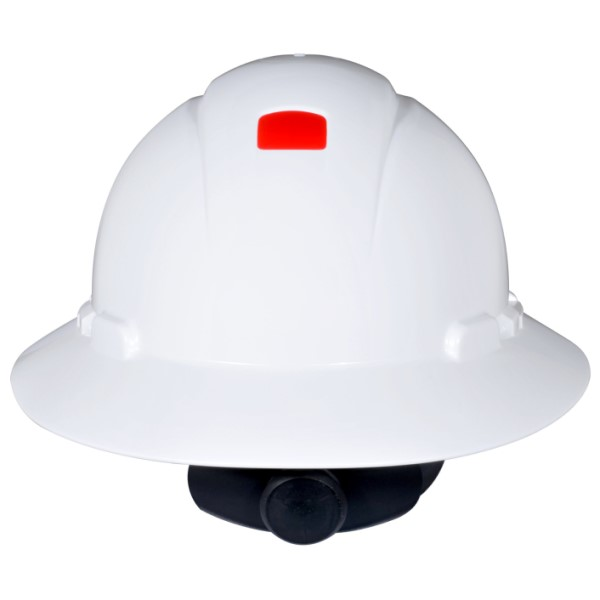 3M 078371-65797 H-800 Full Brim Unvented Hard Hat With Uvicator Sensor