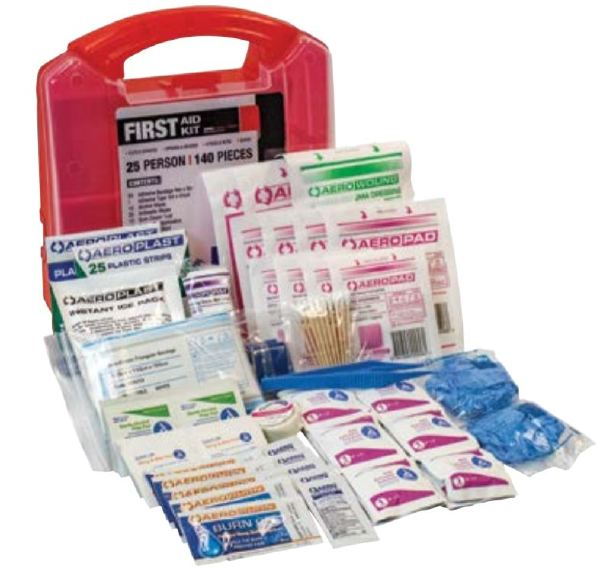 SAS  6025 25-Person First Aid Kit, 140 Pieces