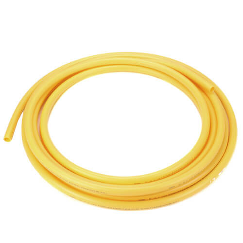 Silver-Line 52.125 IPS SDR 11 Polyethylene Gas Pressure Pipe, 1-1/4 in x 500  ft Roll, Yellow