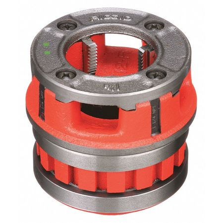 RIDGID 37405 12-R Right Hand  Threader Die Head, 1-1/4 in Nominal, NPT Thread, Alloy Steel Die