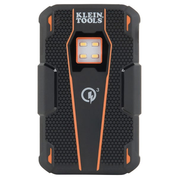 Klein KTB2 Portable Jobsite Rechargeable Battery Bank, 13400 mAh