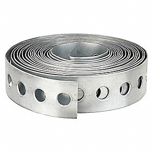 Cody Co 990 28-Gauge 3/4 in x 100 ft Galvanized Duct Hanging Strap