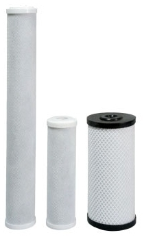 Sterling CB1005 Carbon Block Taste and Odor Filter Cartridge, 2.5 in D x 10 in L