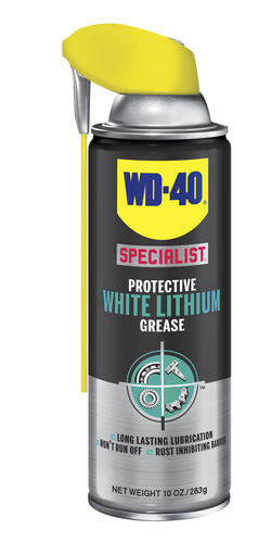 WD-40 300615 Specialist Protective White Lithium Grease, 10 oz