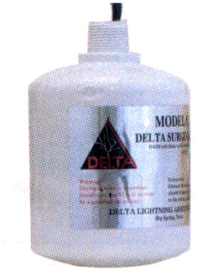 Delta Lightning Arresters CA603 CA Series Surge Capacitor, 650 VAC, 3 Phase