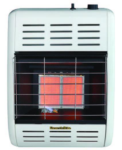 Vent Free Radiant Lp Gas Heater