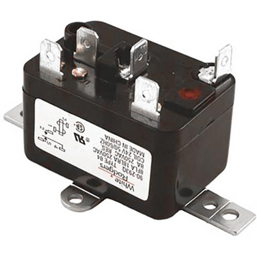 products | white-rodgers 90-293q enclosed fan relay, 125 ma, spdt/no  contact, 24 vac v coil  locke supply co.